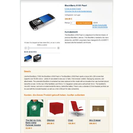Automatisches Cross-Selling direkt auf der Artikelseite in Magento: Mindern Sie die Ablenkungen im Warenkorb.