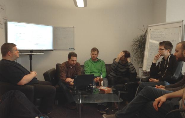 Gemeinsames Programmieren beim Magento Hackathon
